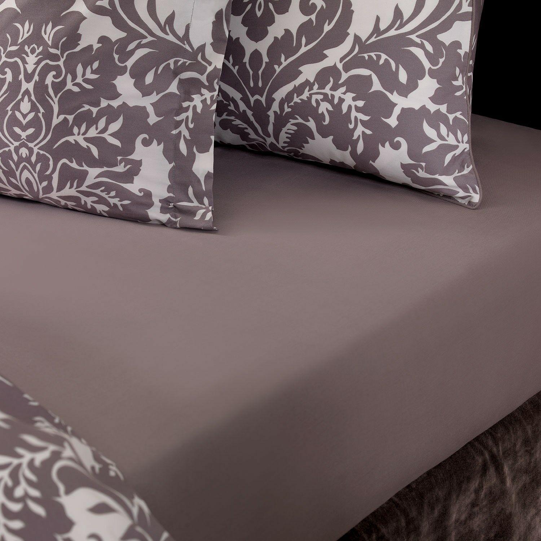 Gann 220 Thread Count 100% Cotton Flat Sheet Size: Queen, Product Type: Flat Sheet