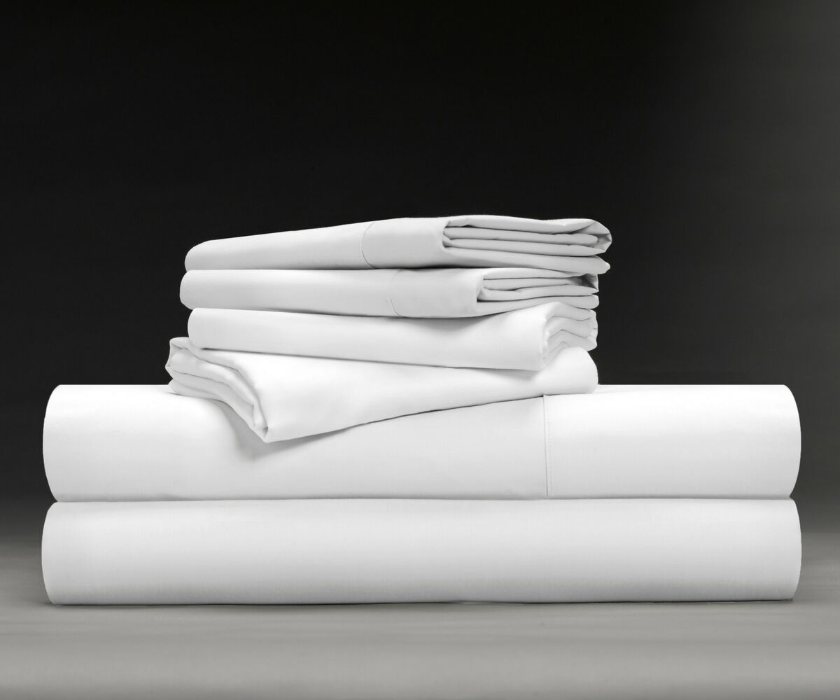 Wesley Luxe Soft & Smooth 600 Thread Count Sheet Set Size: King, Color: White