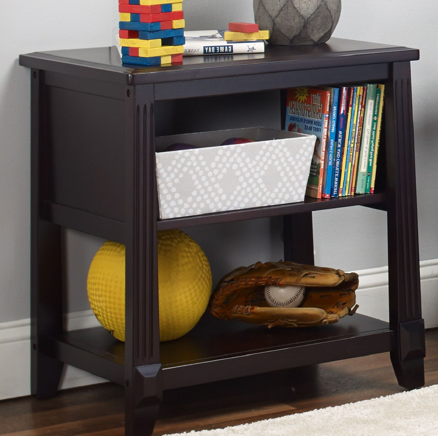 Berkley Nightstand Color: Espresso