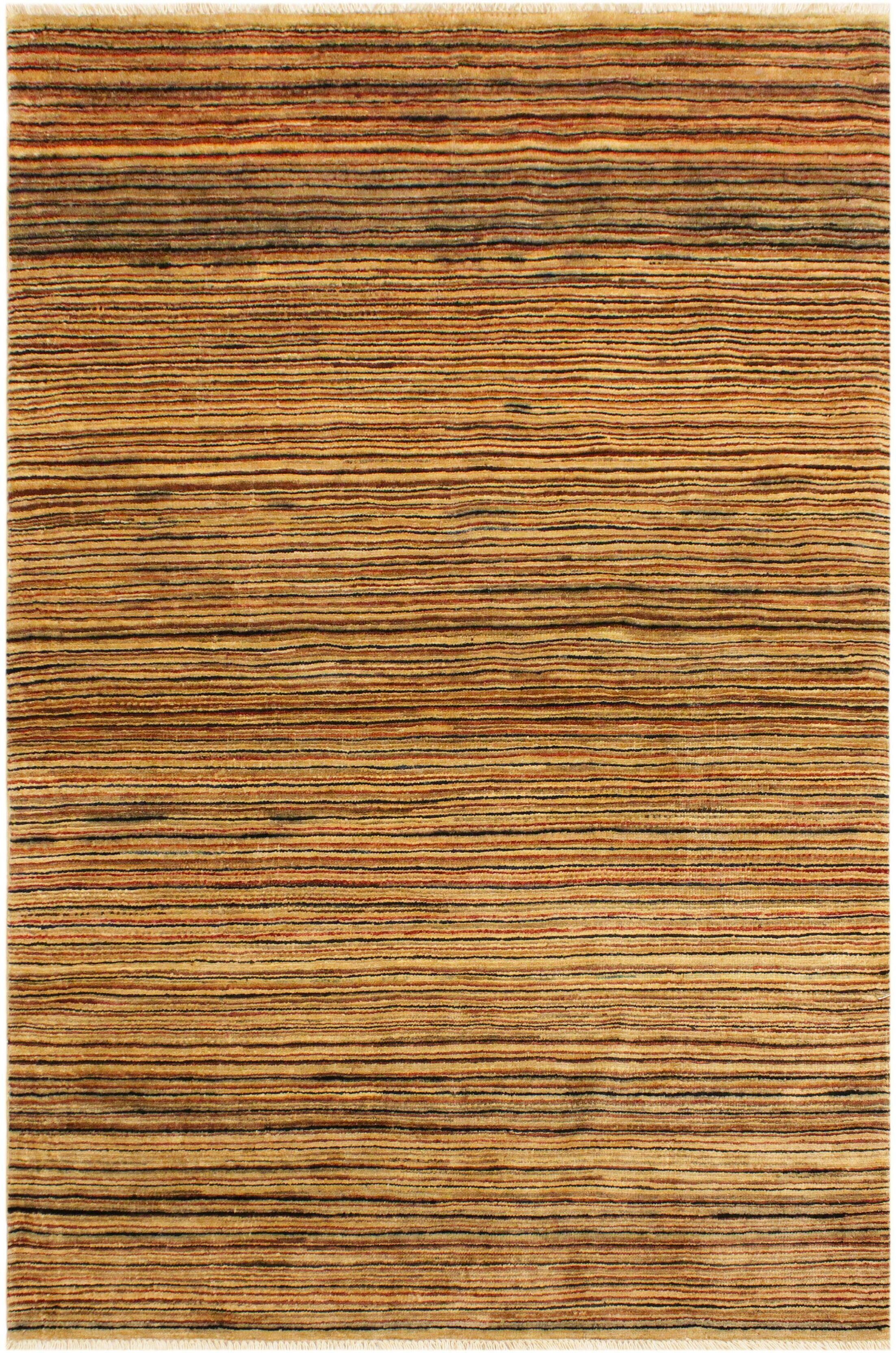 One-of-a-Kind Milo Hand-Knotted Wool Tan/Brown Area Rug