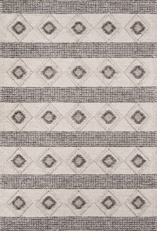 Elissa Hand-Woven Beige Area Rug Rug Size: Rectangle 3' x 5'