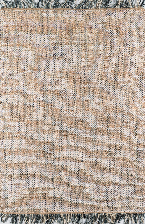 Houston Hand-Woven Brown Area Rug Rug Size: Rectangle 7'6