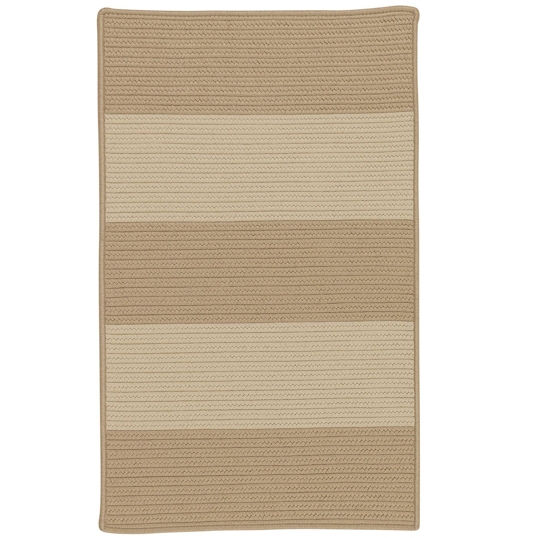 Javen Hand-Braided Brown/Beige Indoor/Outdoor Area Rug Rug Size: Rectangle 10' x 13'
