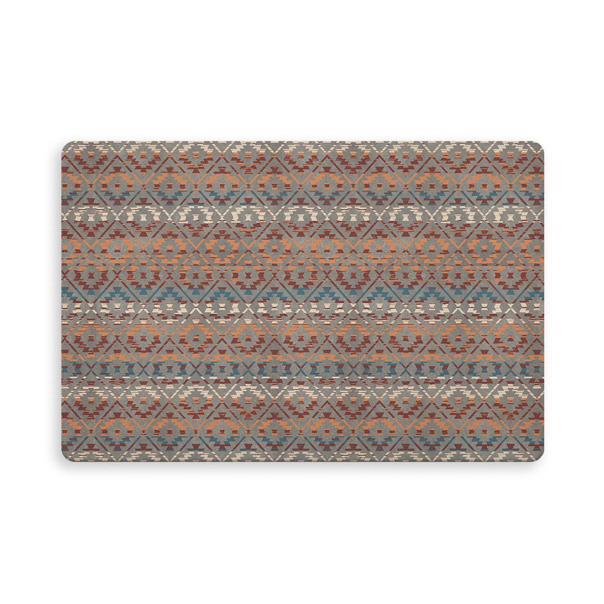 Cedric Kitchen Mat Color: Charcoal, Mat Size: Rectangle 2'7