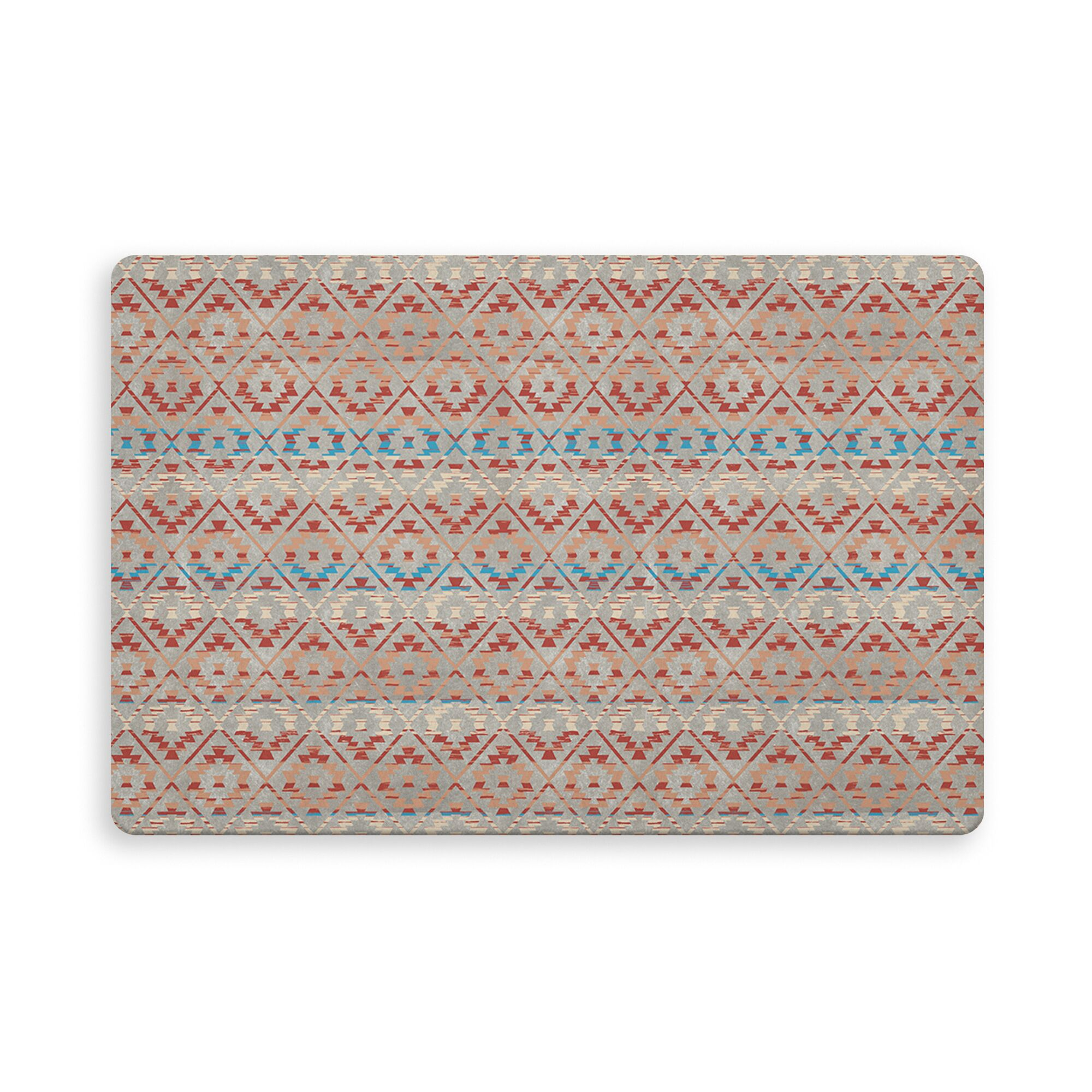 Cedric Kitchen Mat Color: Gray, Mat Size: Rectangle 2'7