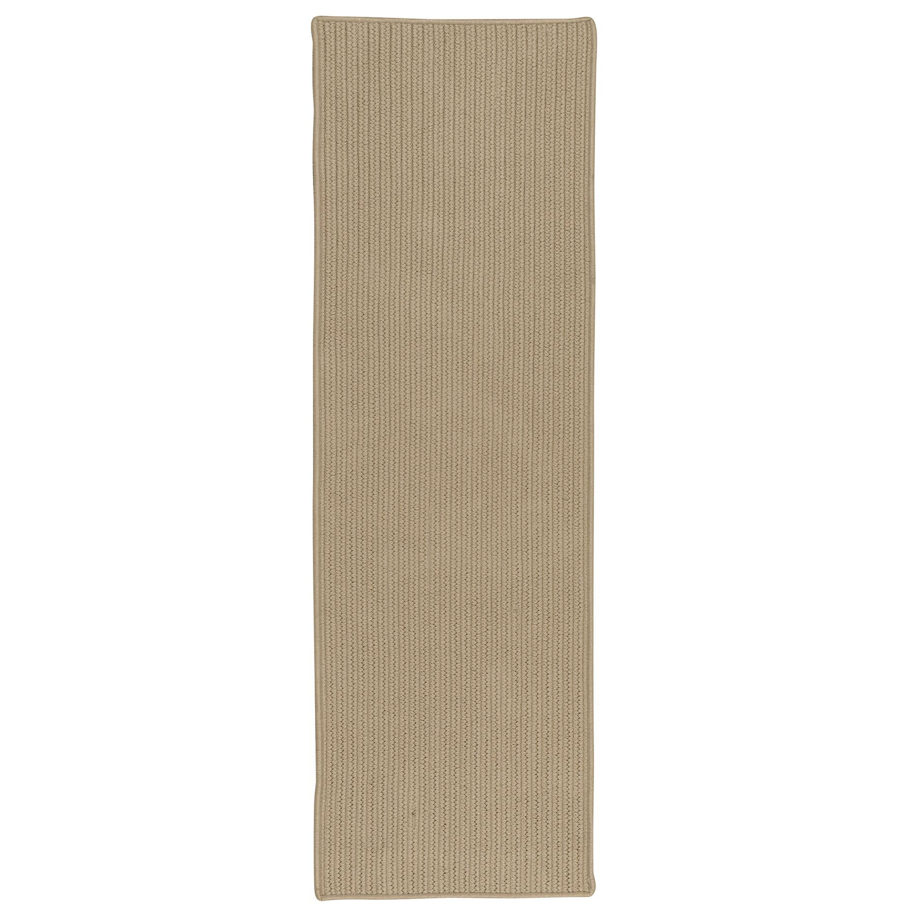 Cheyanne All-Purpose Mudroom Hand-Braided Natural Area Rug Rug Size: Runner 2'5