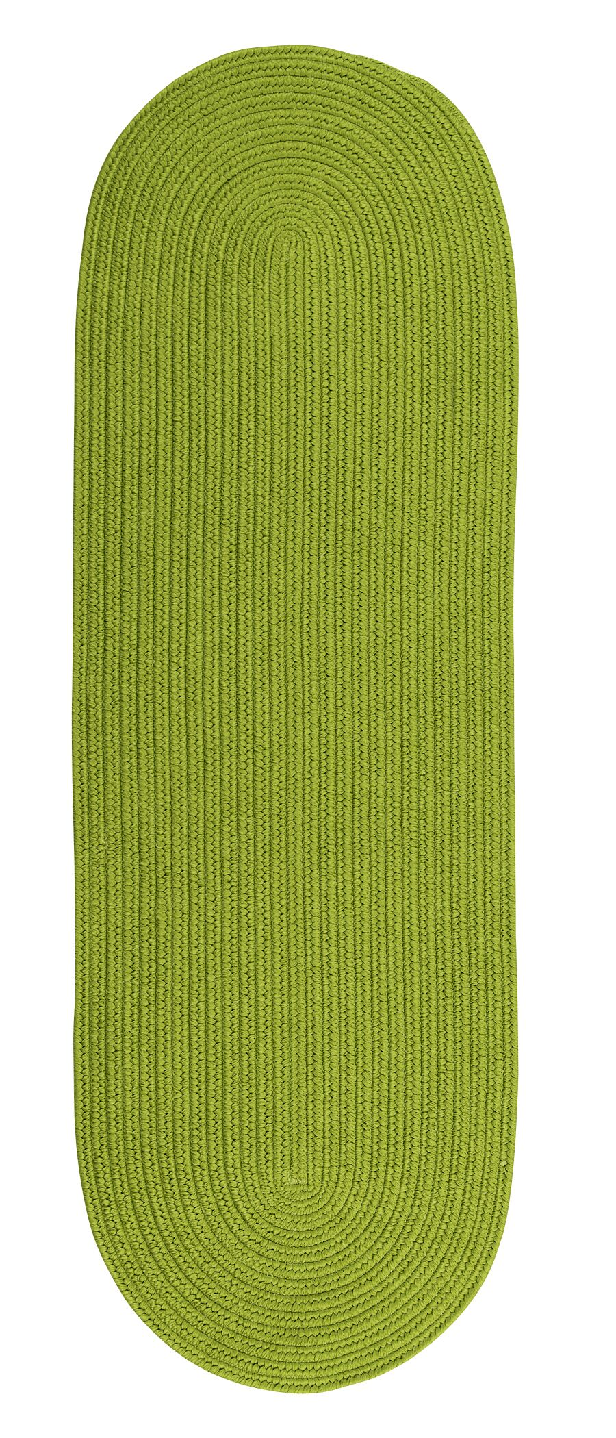 Wilham Reversible Hand-Braided Green Indoor/Outdoor Area Rug Rug Size: Runner 2'4
