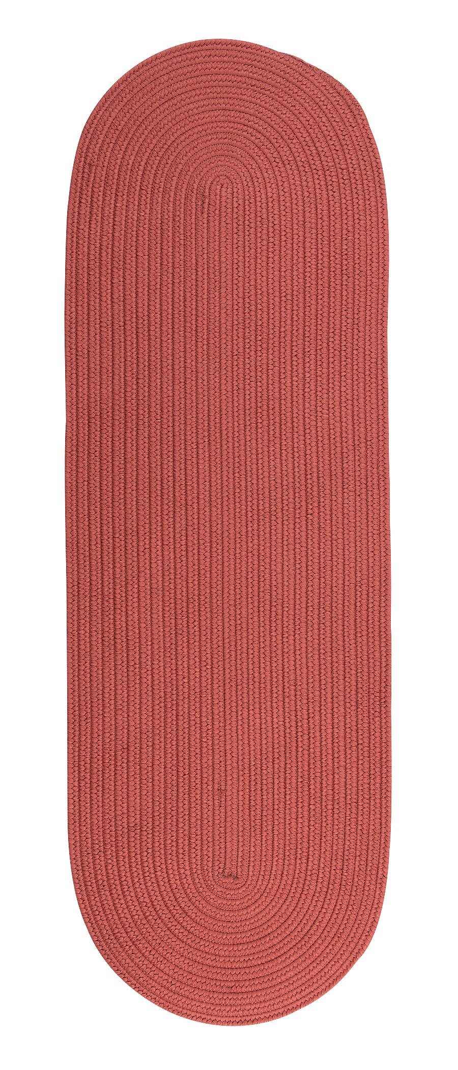 Westbourne Reversible Hand-Braided Red Indoor/Outdoor Area Rug Rug Size: Runner 2'4