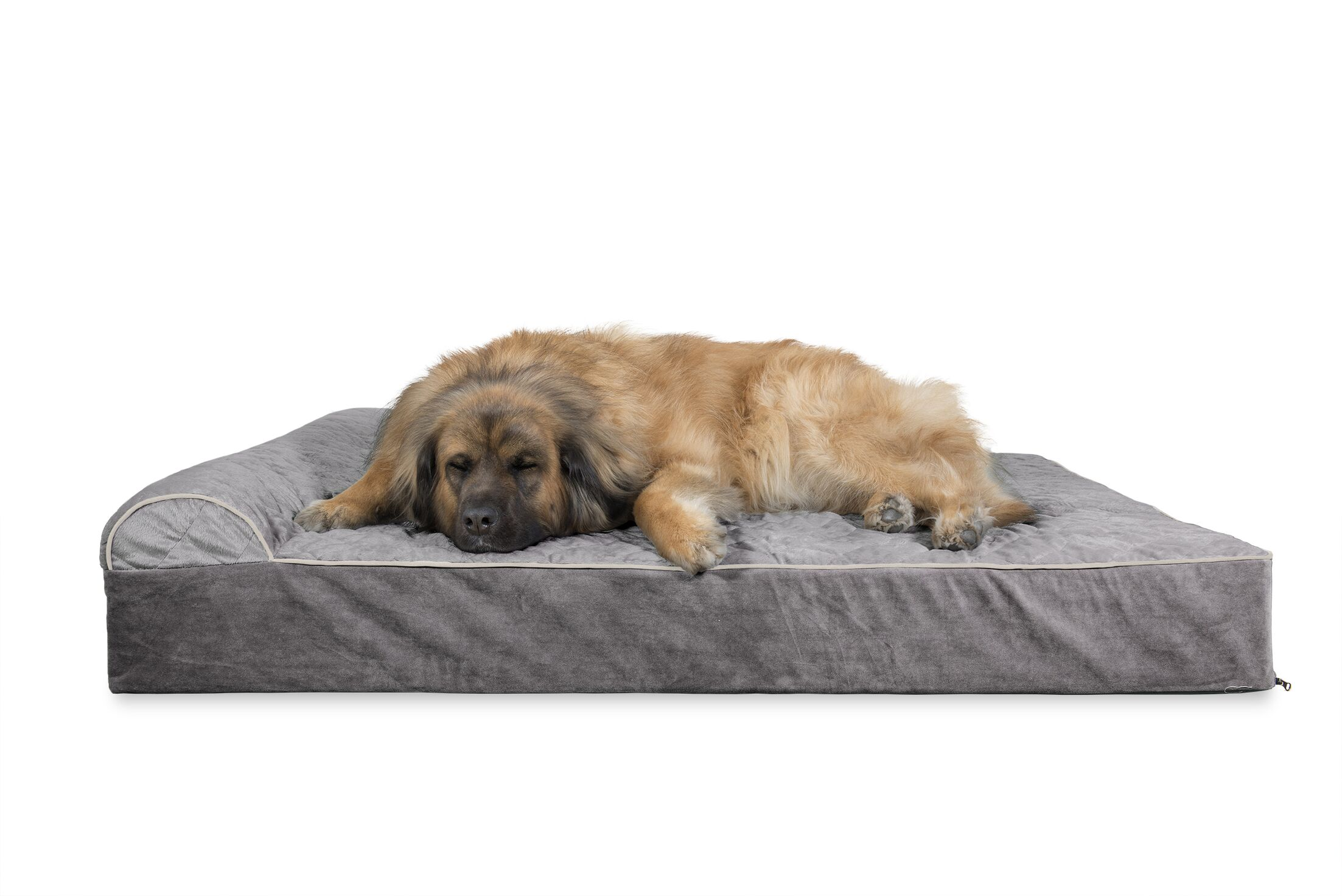 Digby Quilted Goliath Chaise Lounge Dog Sofa Size: Extra Large (11