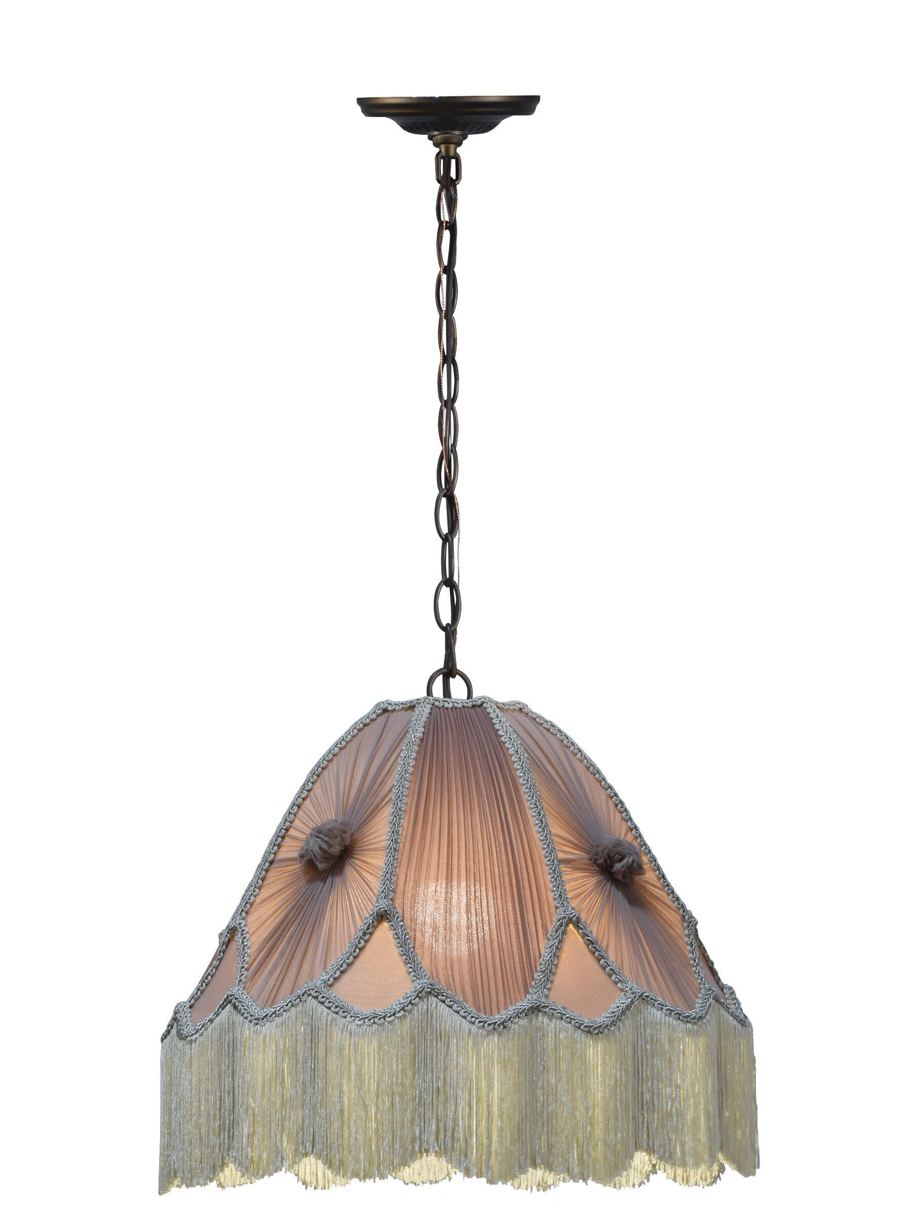 Mckay Victorian 1-Light Dome Pendant