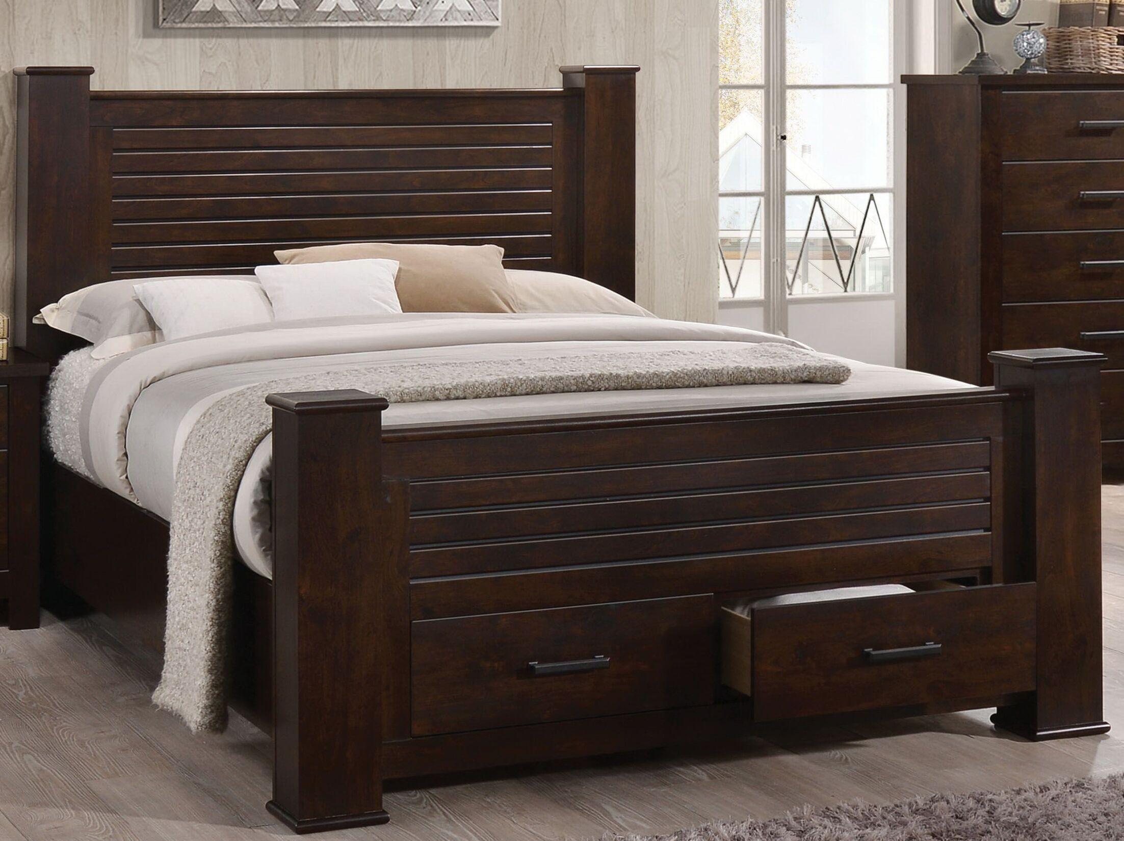 Octavia Storage Platform Bed Size: King