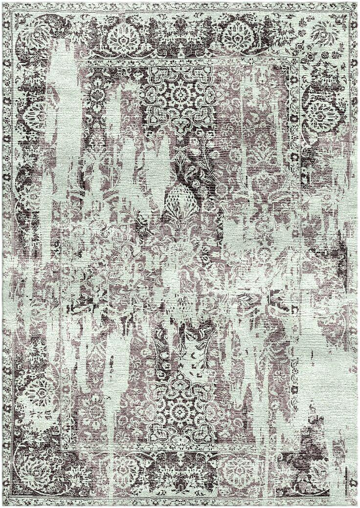 Aliza Handloom Gray Area Rug Rug Size: Rectangle 4' x 6'