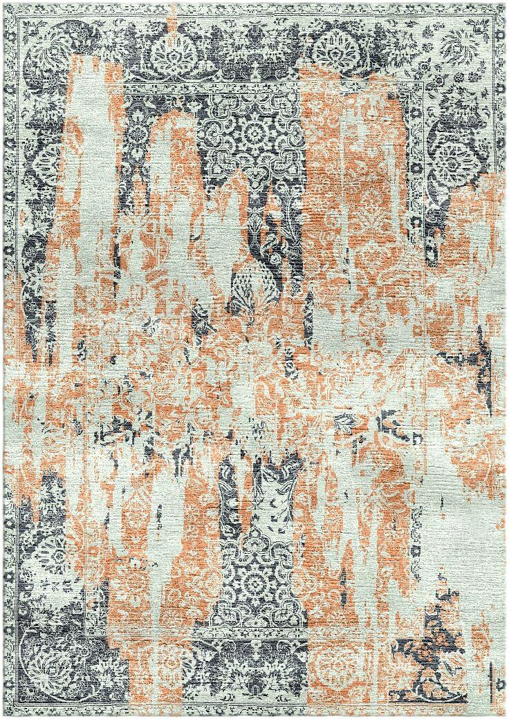 Aliza Handloom Sage/Rust Area Rug Rug Size: Round 9'