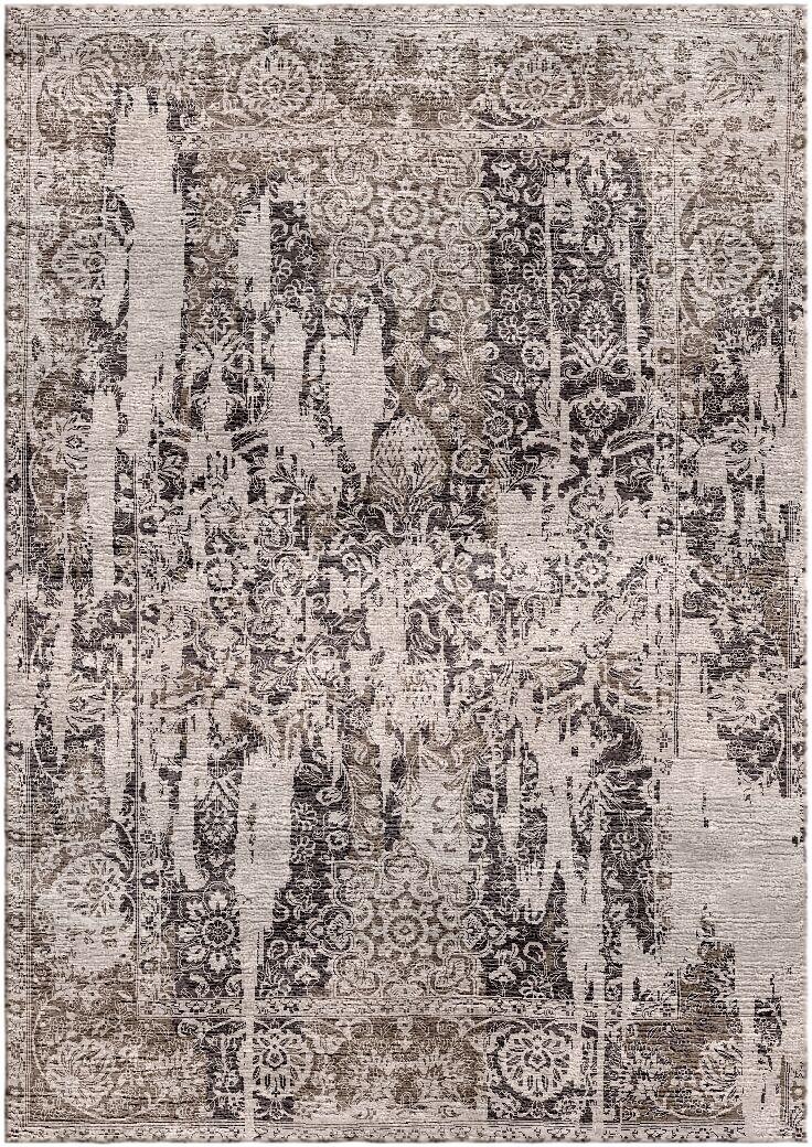 Aliza Handloom Brown/Beige Area Rug Rug Size: Rectangle 8' x 10'