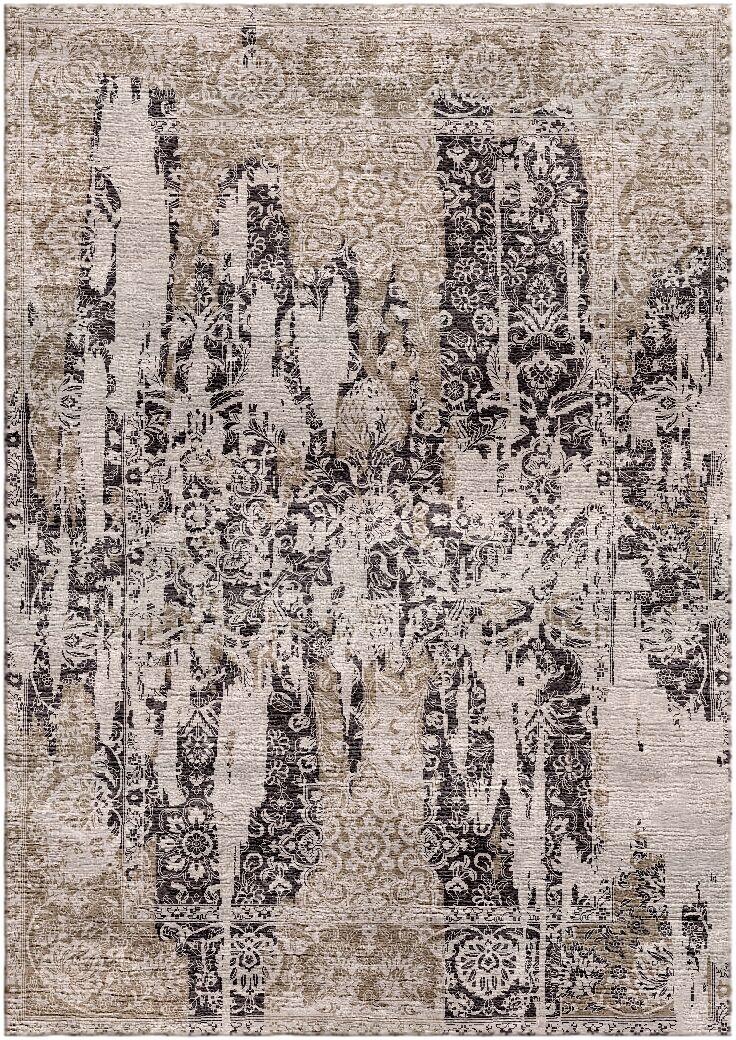 Aliza Handloom Brown/Beige Area Rug Rug Size: Rectangle 9' x 12'