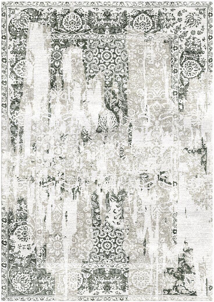 Aliza Handloom Gray/Ivory Area Rug Rug Size: Rectangle 6' x 9'