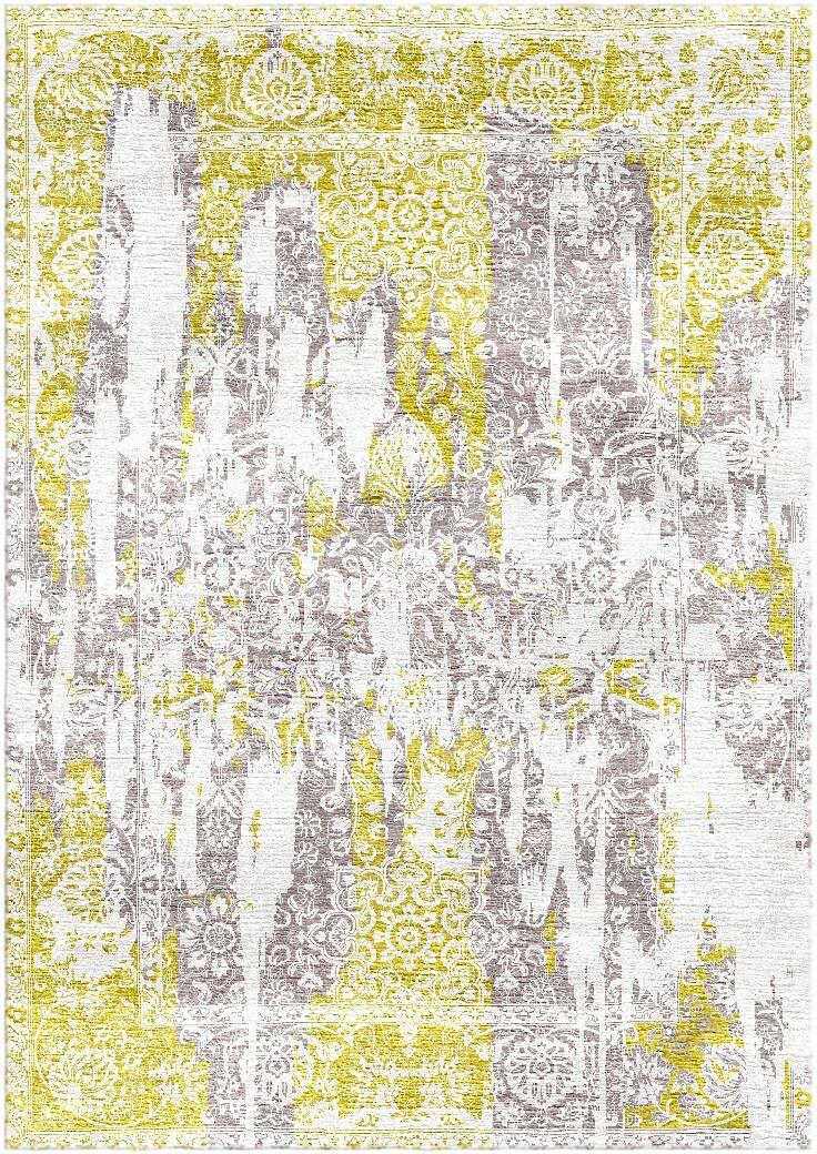 Aliza Handloom Gold/Gray Area Rug Rug Size: Round 9'