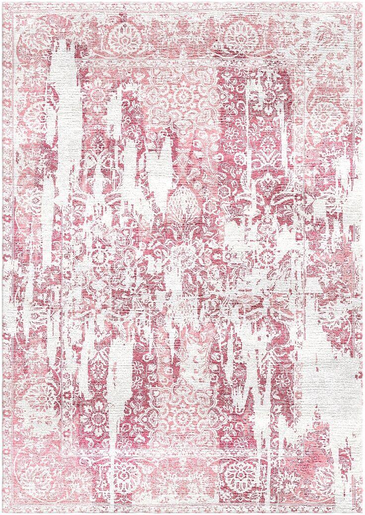 Aliza Handloom Pink Area Rug Rug Size: Square 9'