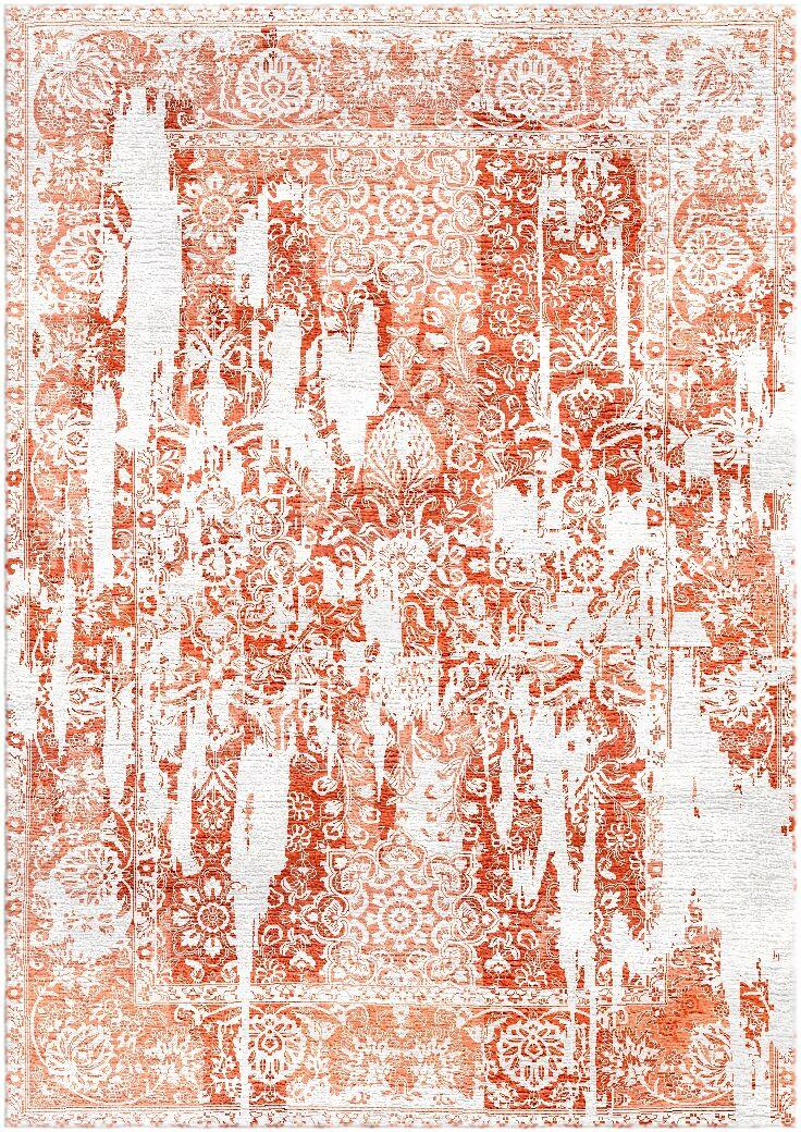 Aliza Handloom Rust Area Rug Rug Size: Rectangle 5'7
