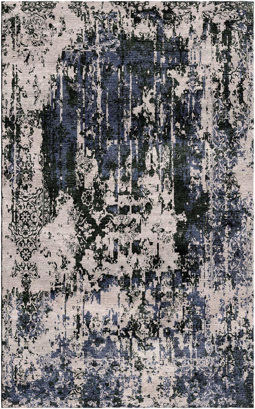 Aliza Handloom Gray Area Rug Rug Size: Rectangle 9' x 12'