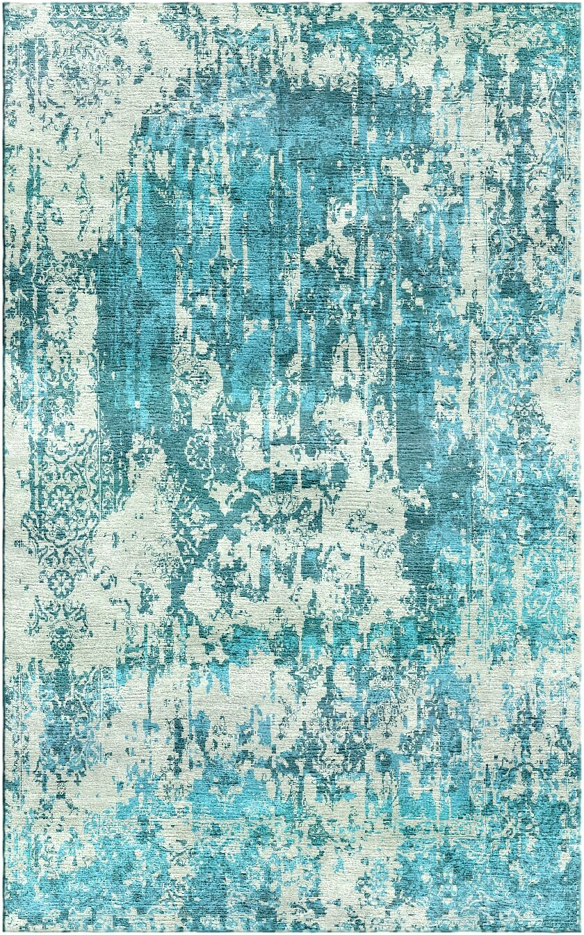 Aliza Handloom Blue Area Rug Rug Size: Square 6'