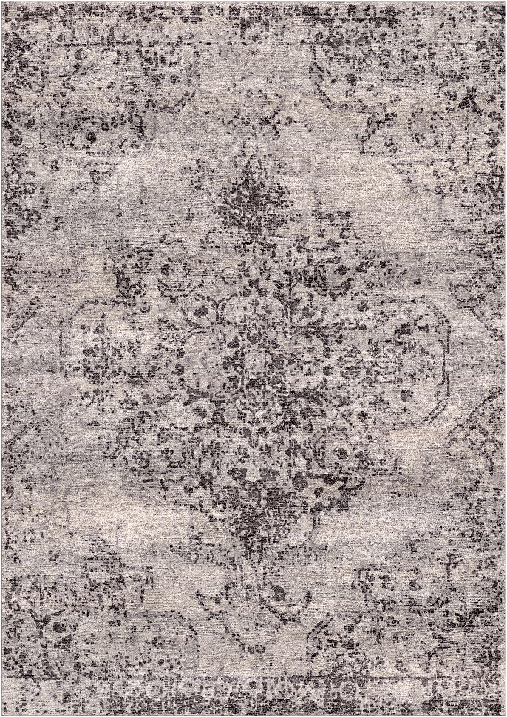 Aliza Handloom Beige/Brown Area Rug Rug Size: Rectangle 8' x 10'
