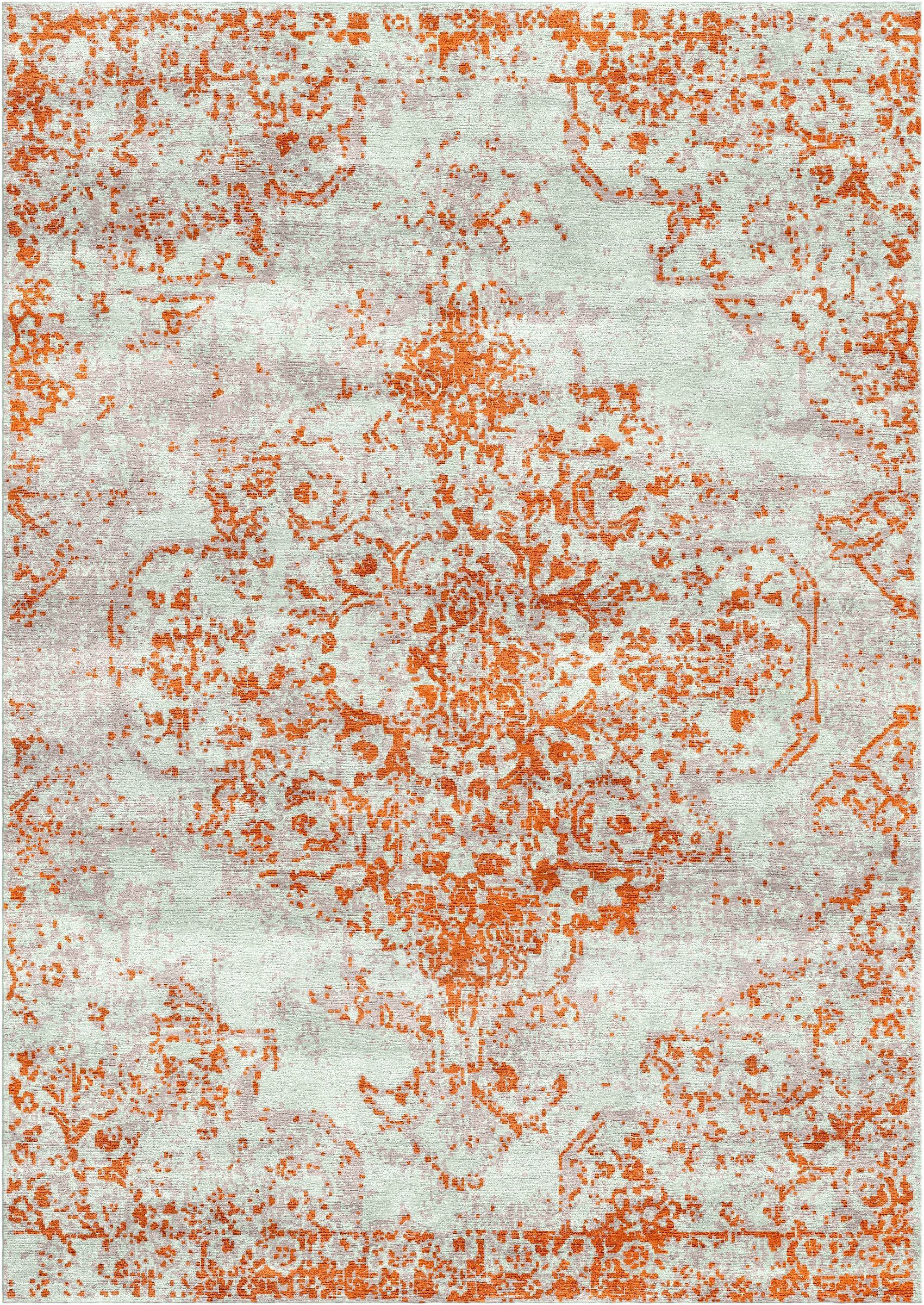 Aliza Handloom Rust Area Rug Rug Size: Rectangle 4' x 6'