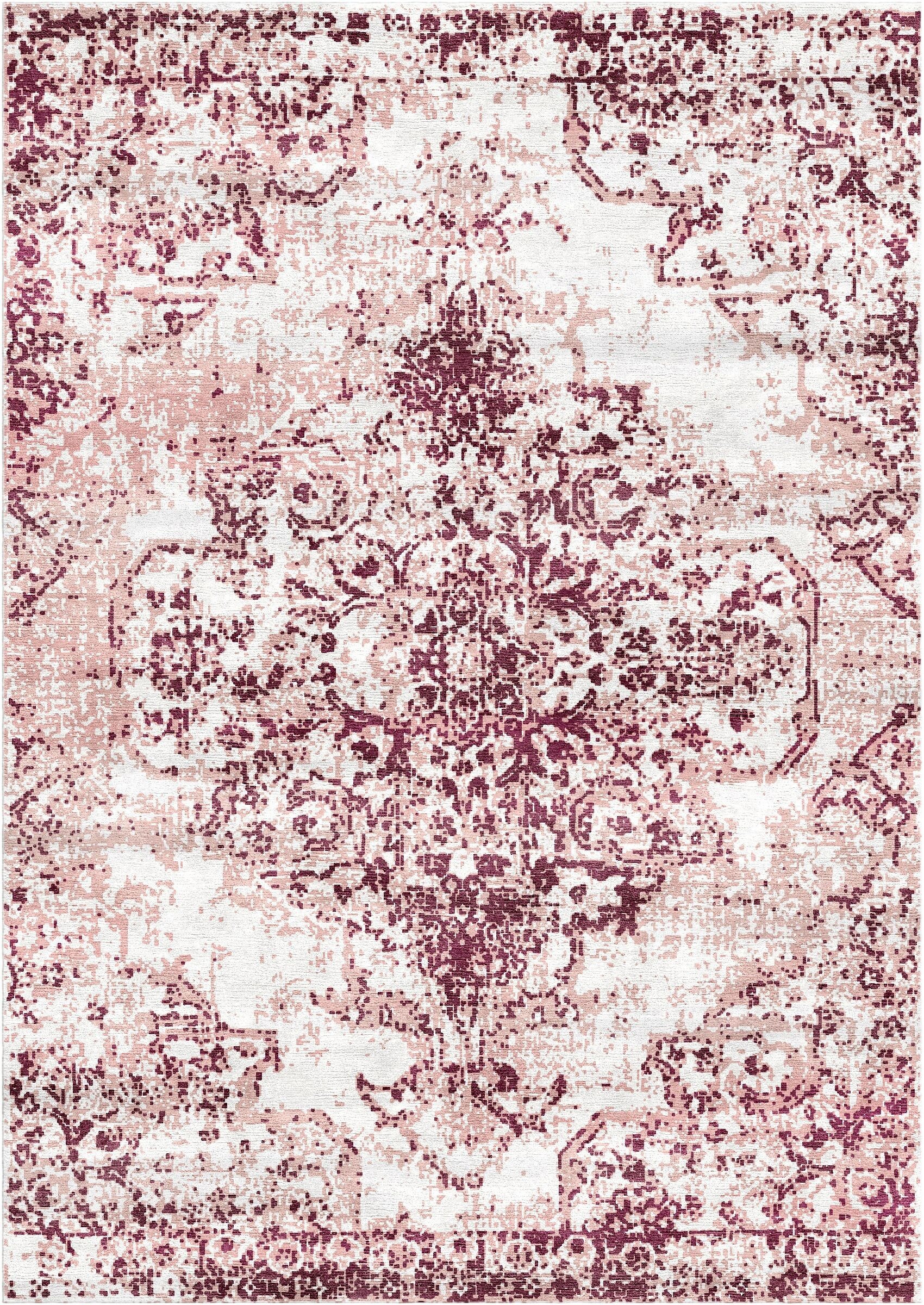 Aliza Handloom Purple Area Rug Rug Size: Rectangle 9' x 12'