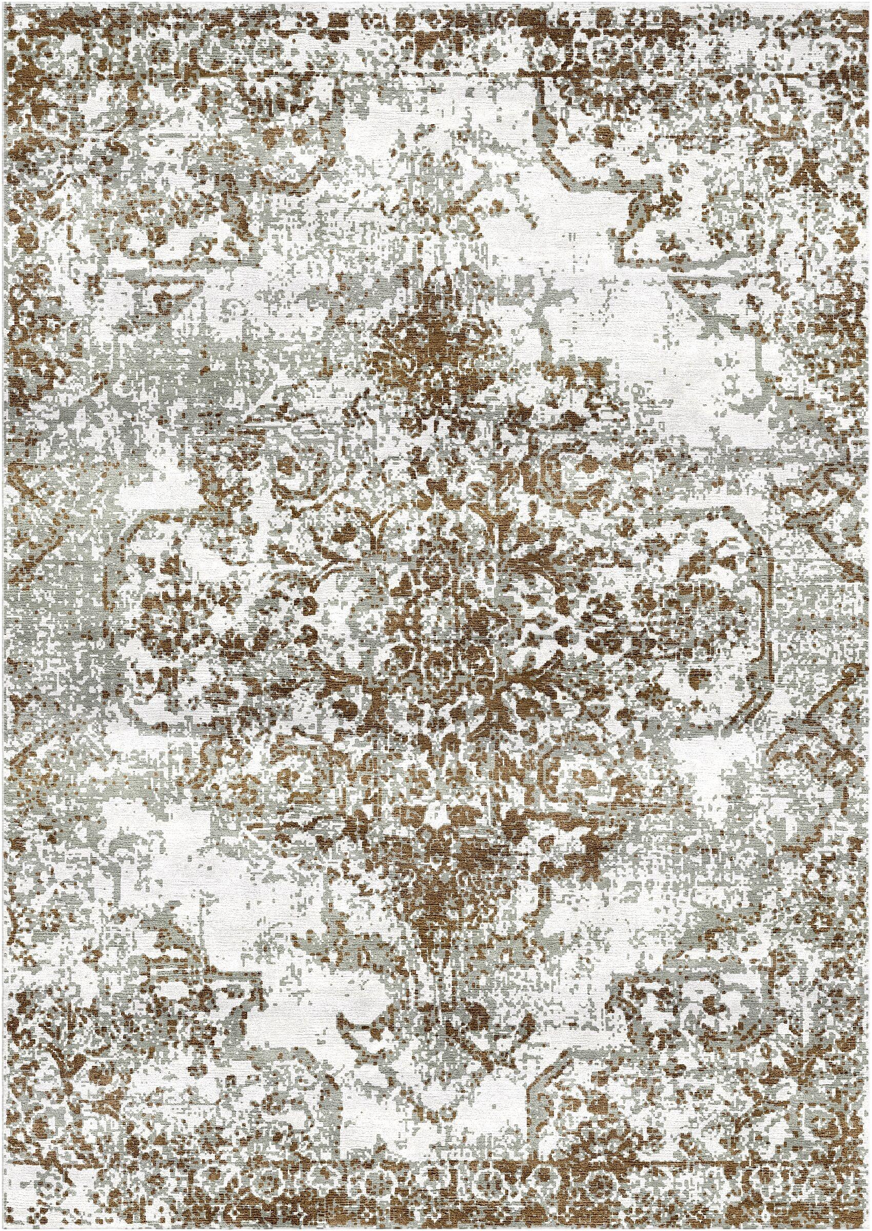 Aliza Handloom Brown/Gray Area Rug Rug Size: Square 9'