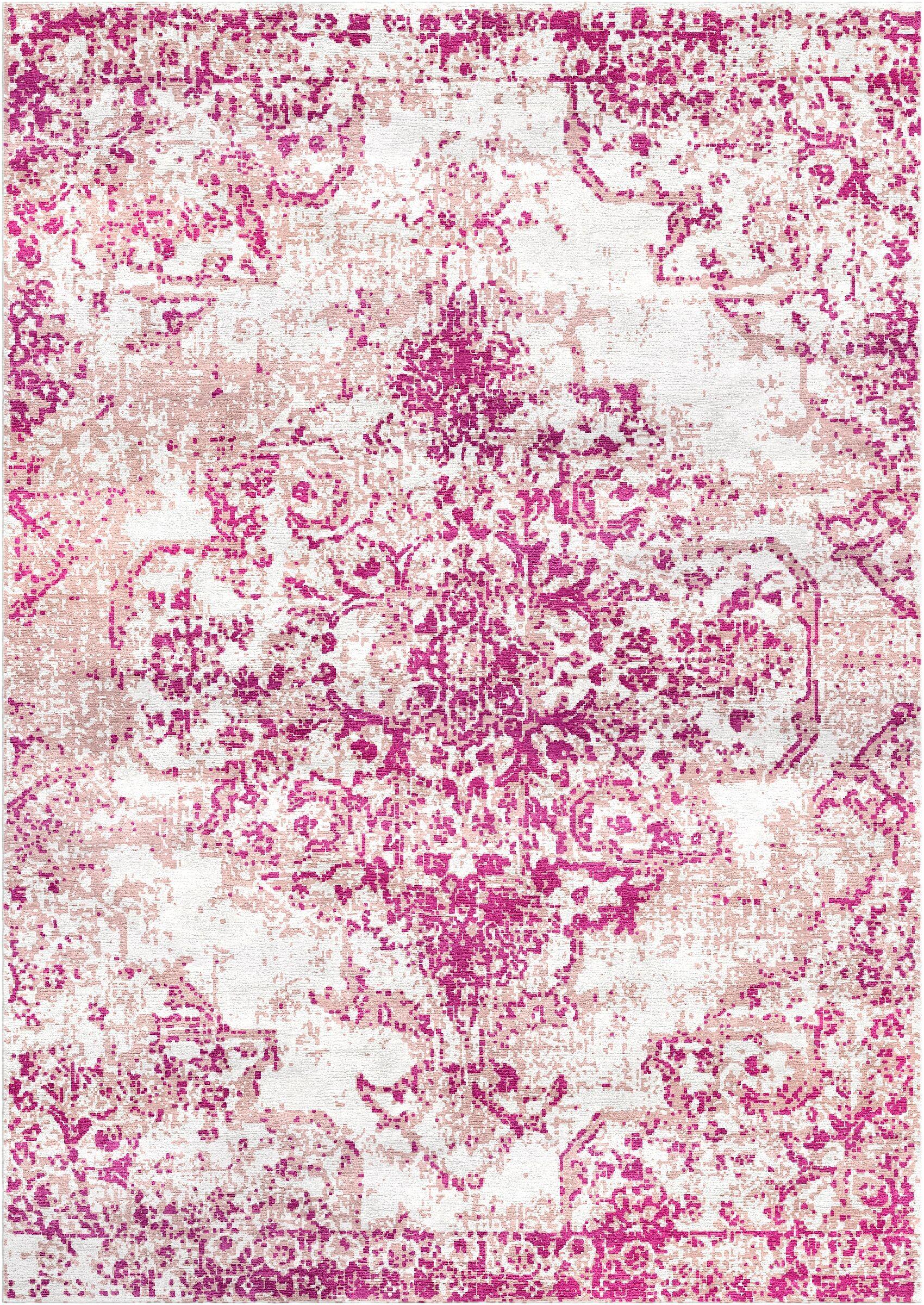 Aliza Handloom Purple Area Rug Rug Size: Rectangle 9' x 12'
