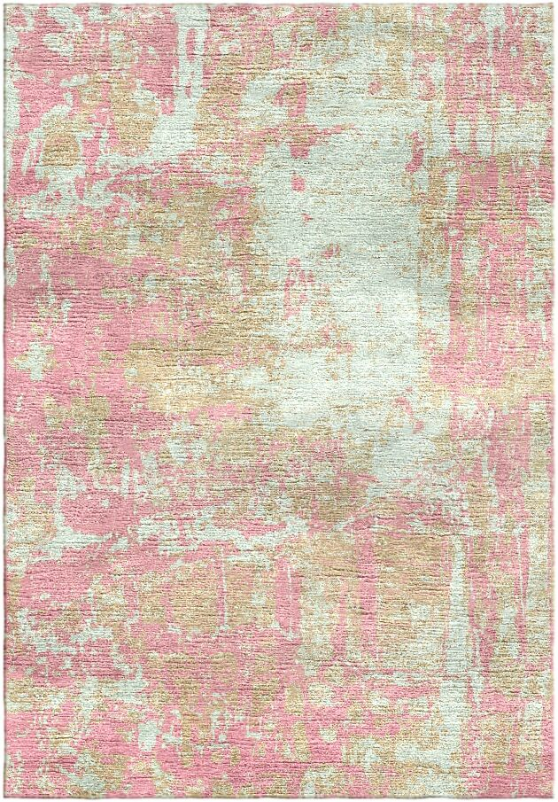 Ashford Handloom Pink/Green Area Rug Rug Size: Rectangle 9' x 12'