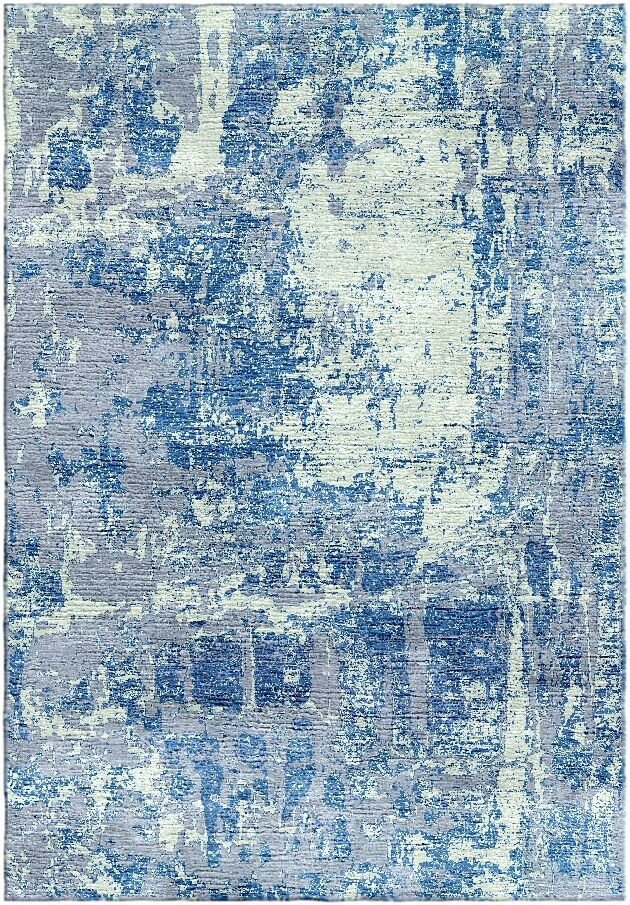 Ashford Handloom Blue/Green Area Rug Rug Size: Rectangle 4' x 6'