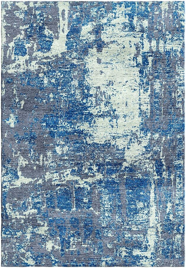 Ashford Handloom Blue/Green Area Rug Rug Size: Rectangle 5'7
