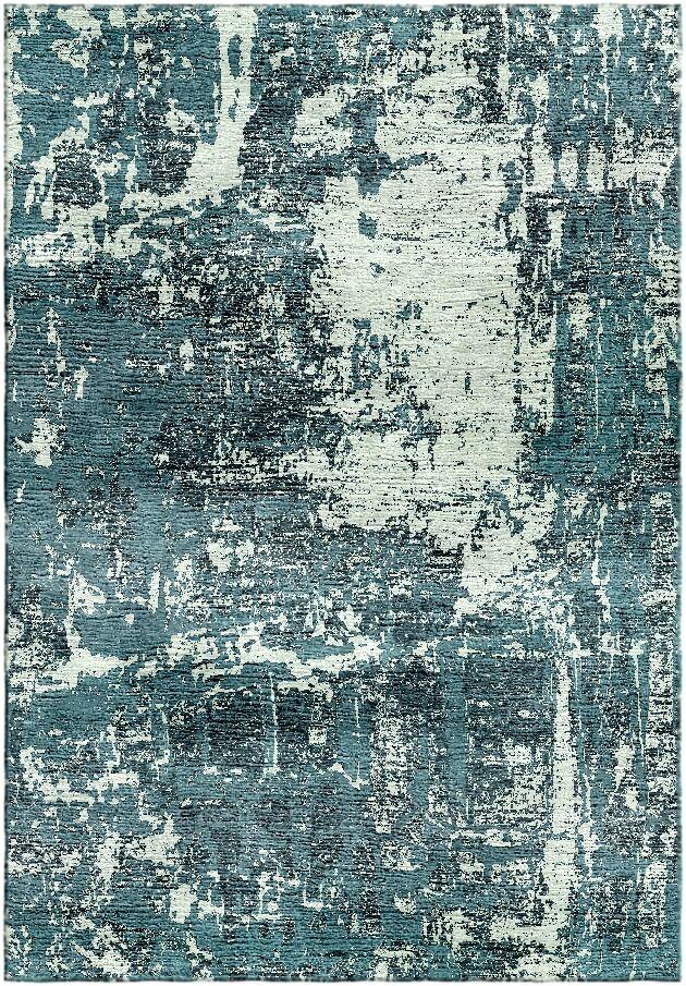 Ashford Handloom Green/Blue Area Rug Rug Size: Rectangle 6' x 9'