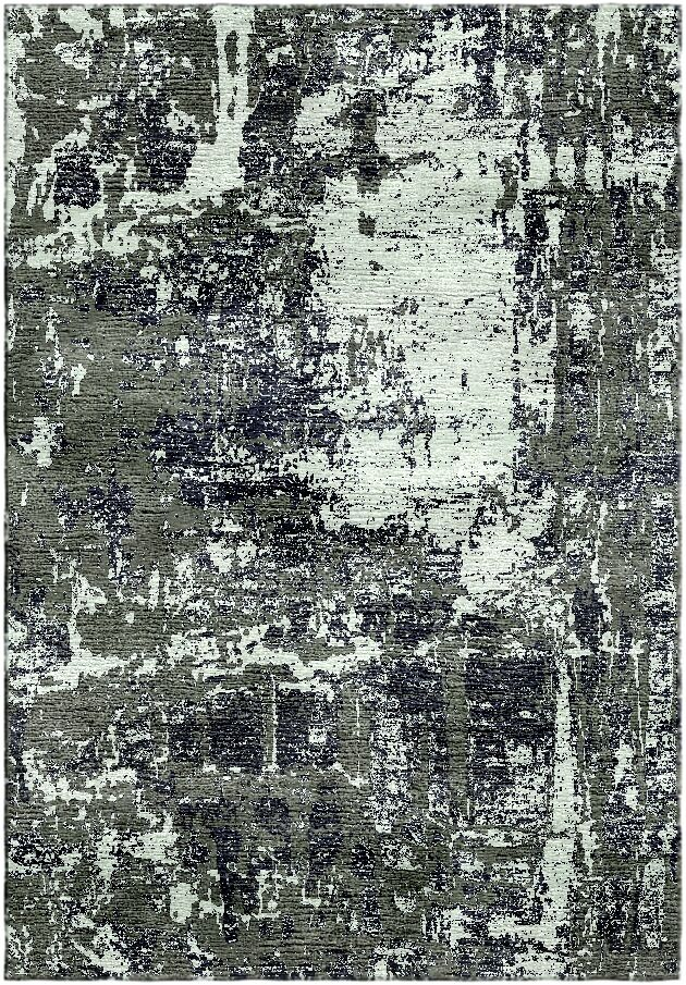 Ashford Handloom Gray/Green Area Rug Rug Size: Square 9'