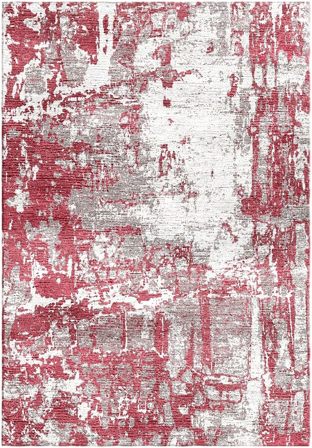 Ashford Handloom Red/Ivory Area Rug Rug Size: Square 6'
