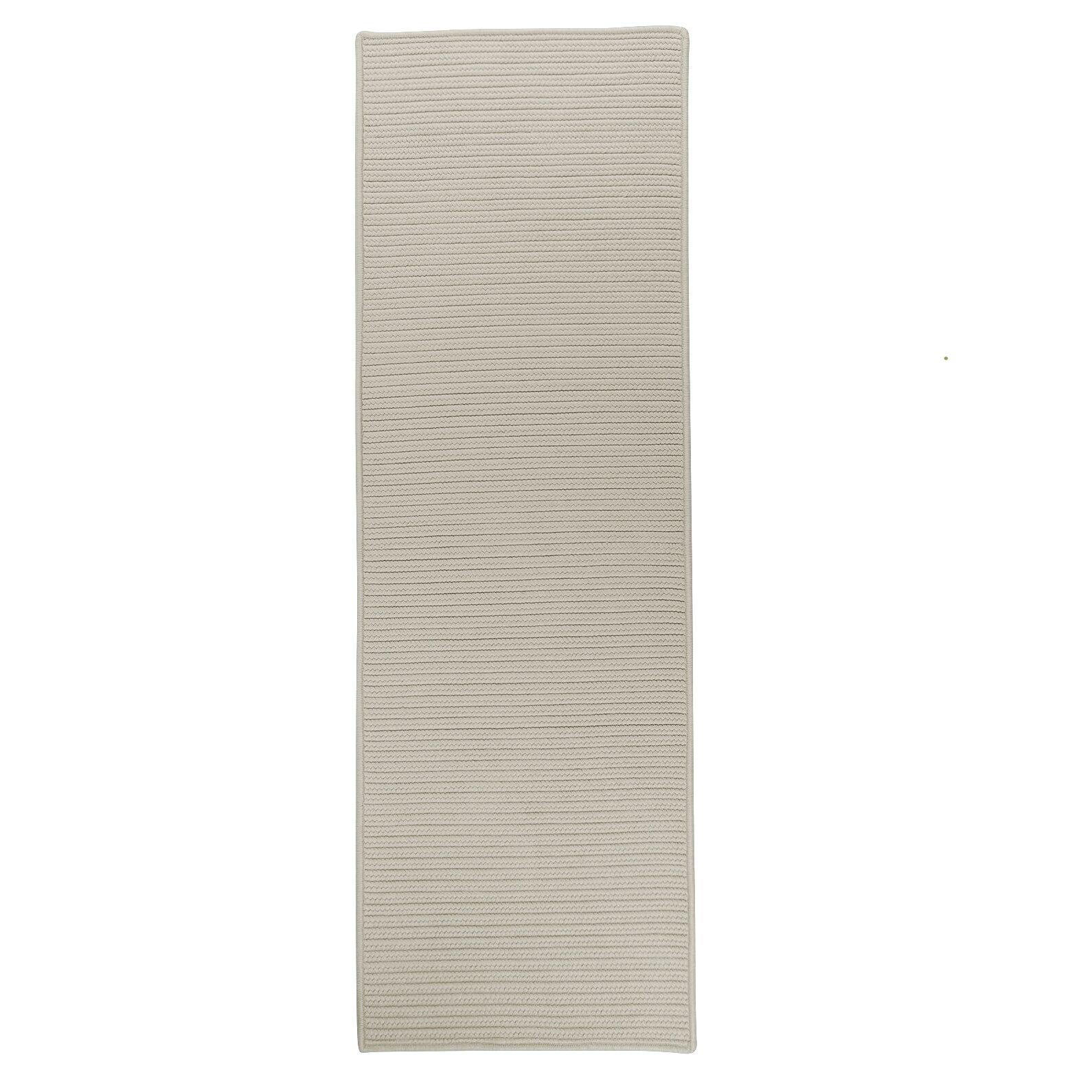 Marisa Reversible Hand-Braided Beige Indoor/Outdoor Area Rug Rug Size: Runner 2'4