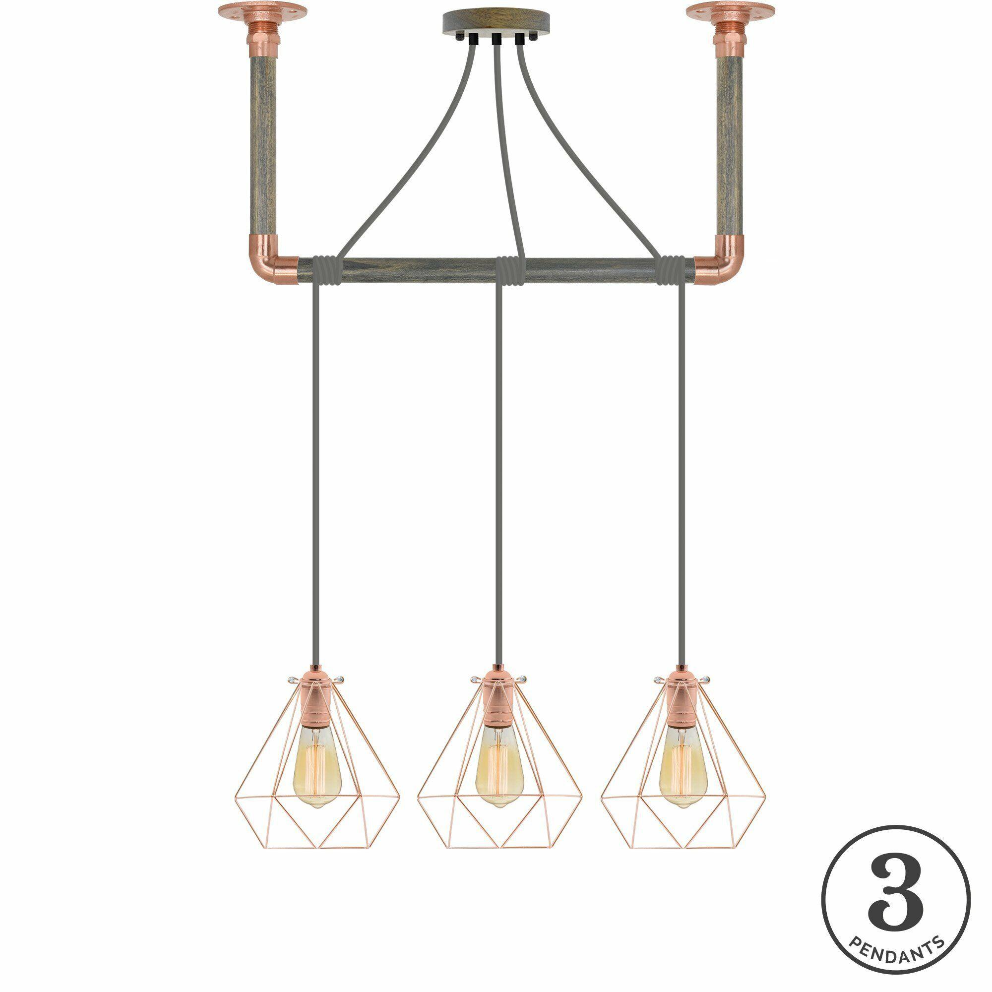 Arian 3-Light Kitchen Island Pendant