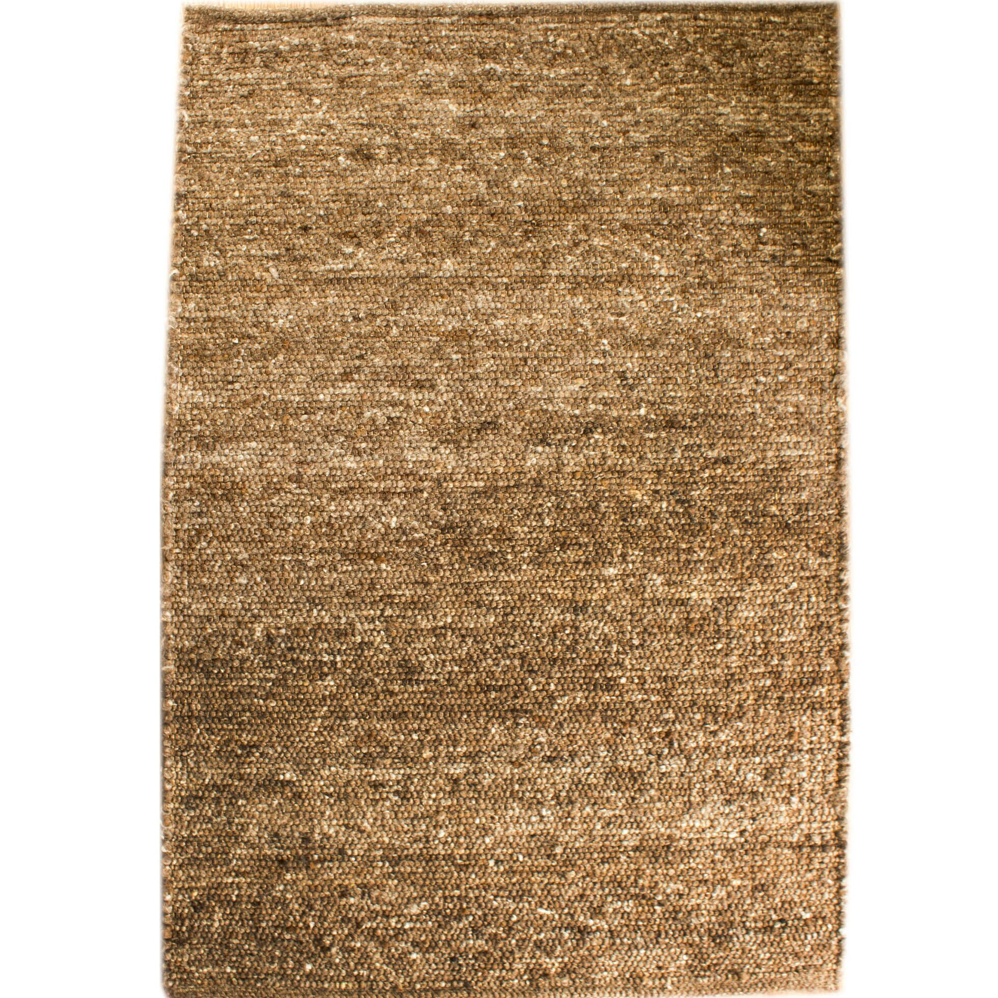 Emrys Berber Hand-Woven Tobacco Brown Area Rug Rug Size: Rectangle 5' x 7'