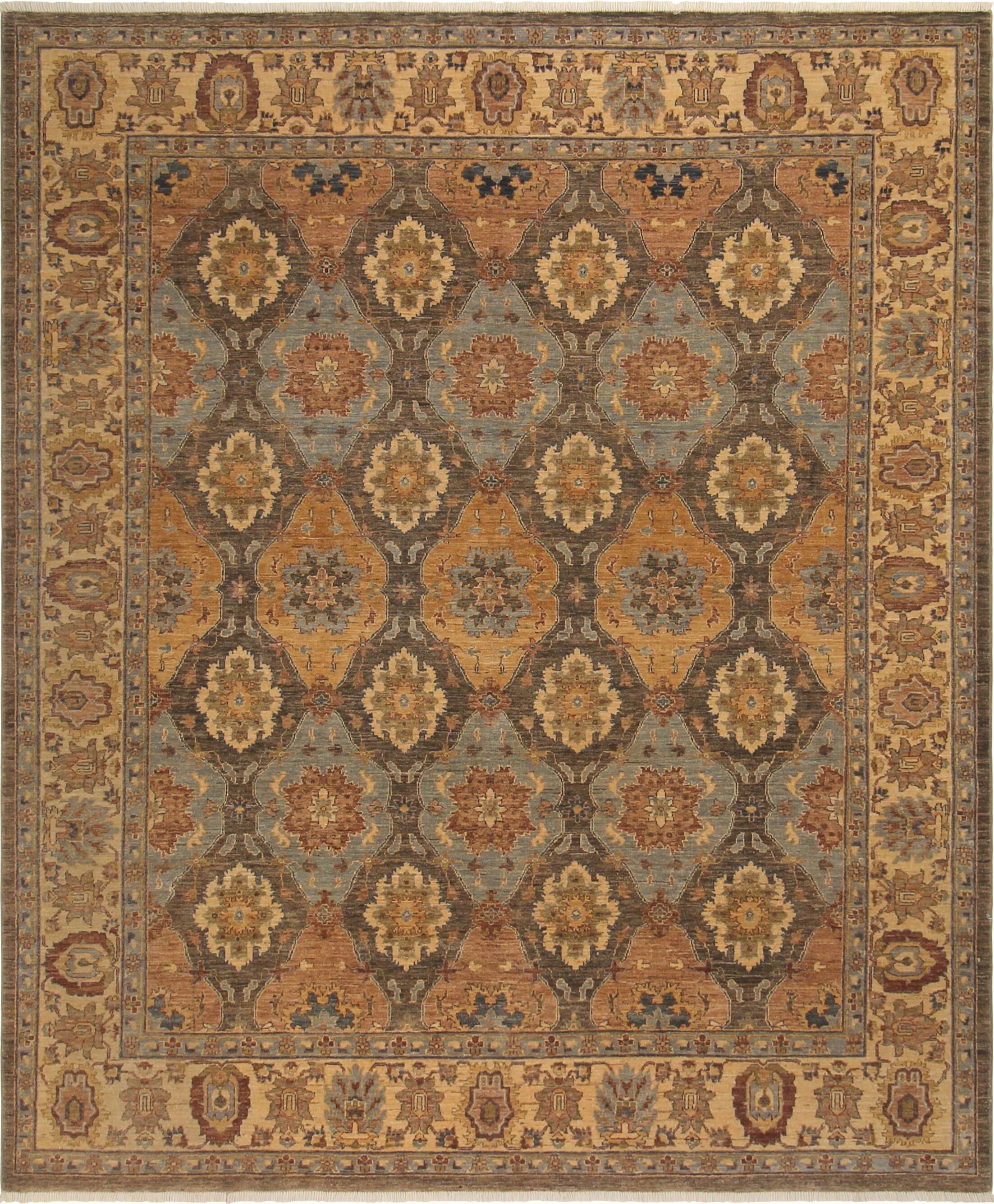 One-of-a-Kind Bodrum Hand-Knotted Wool Gray/Brown Area Rug