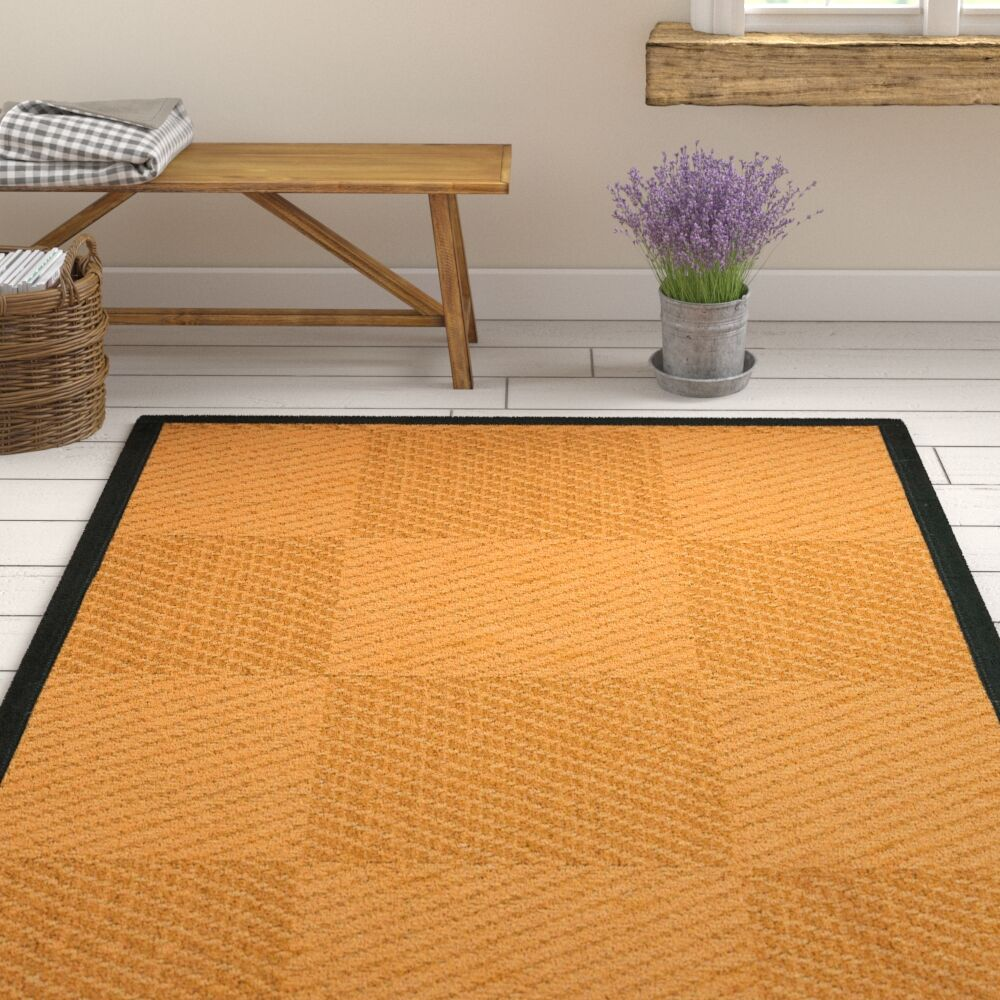 Luhrmann HandWoven Beige/Brown Area Rug Rug Size: Rectangle 9' X 12'