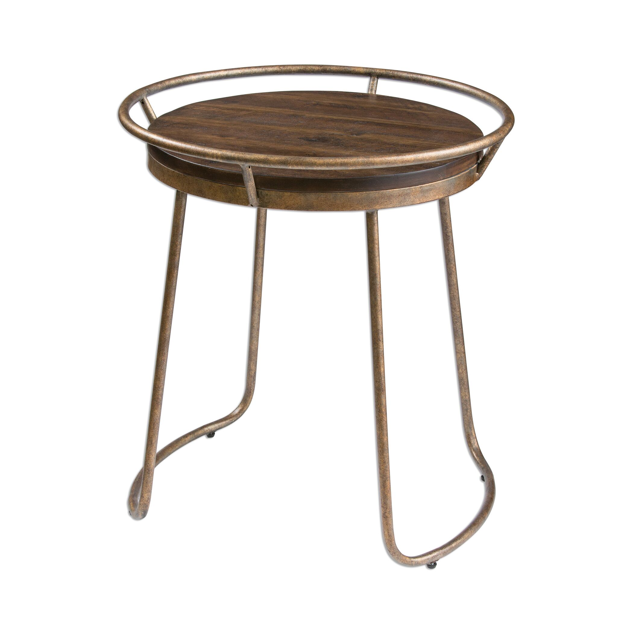 Barksdale Round End Table