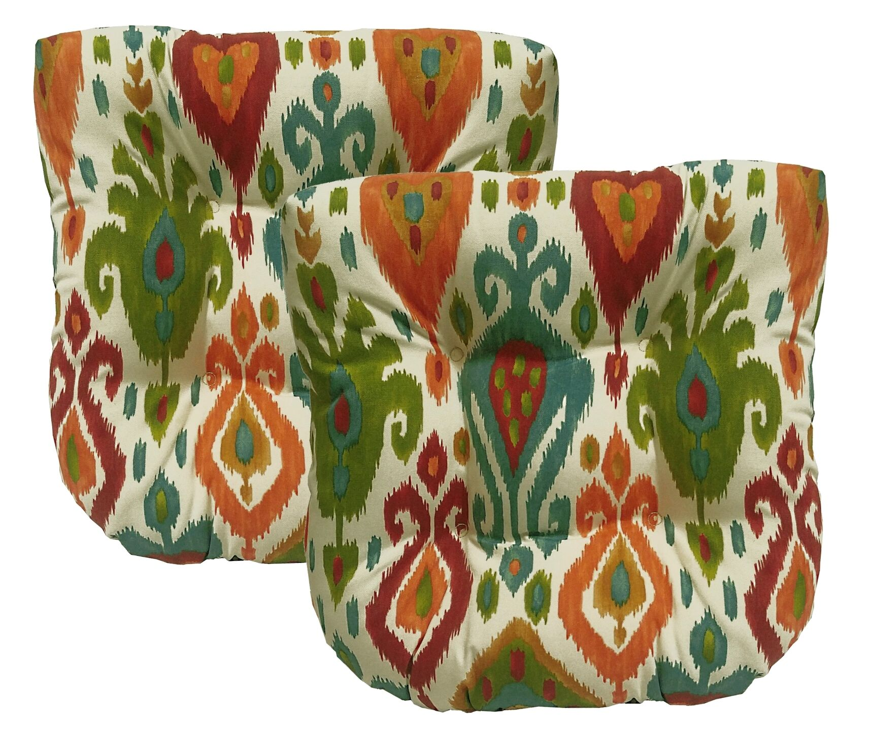 Croft Indoor/Outdoor Dining Chair Cushion Color: Mesa