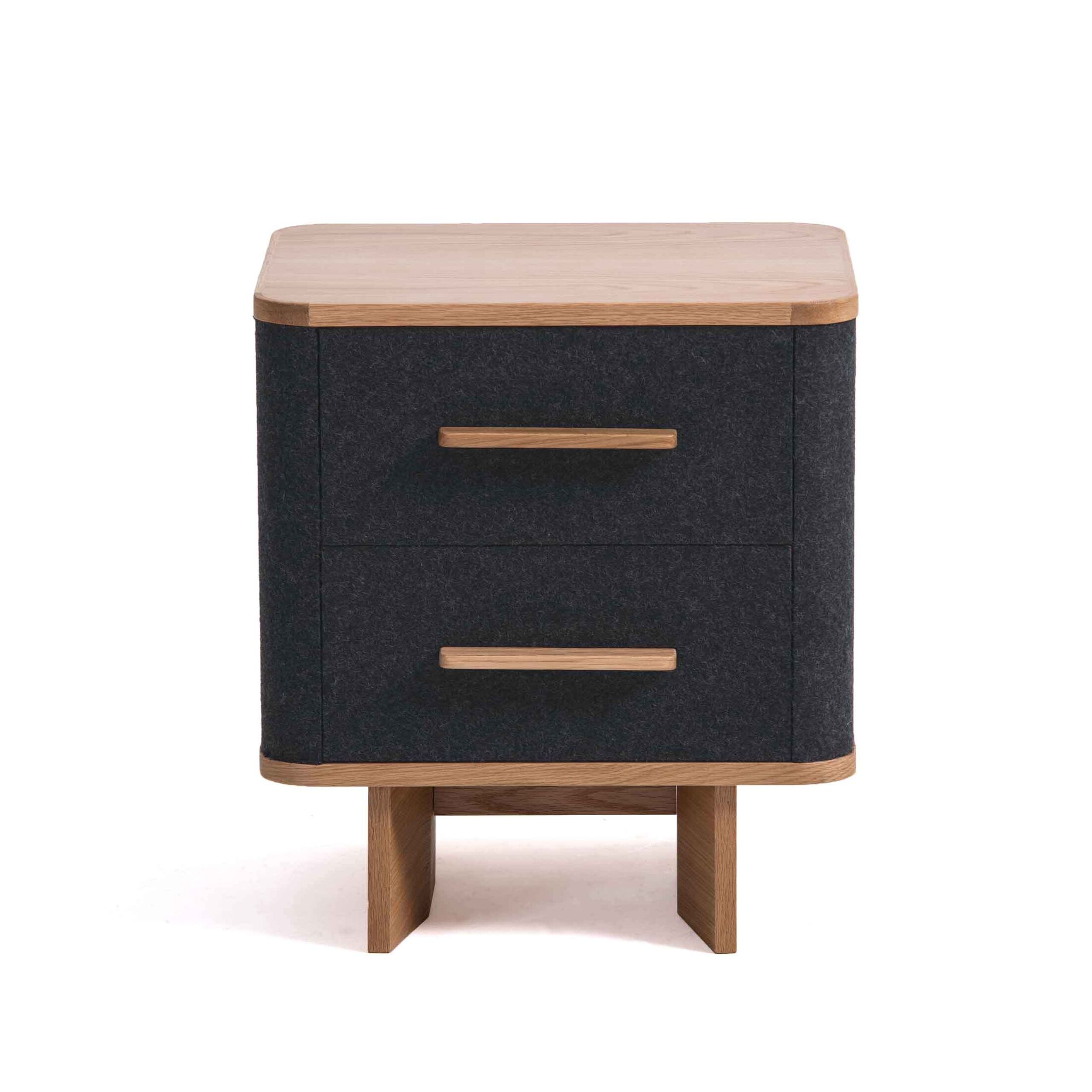 Jeb 2 Drawer Nightstand