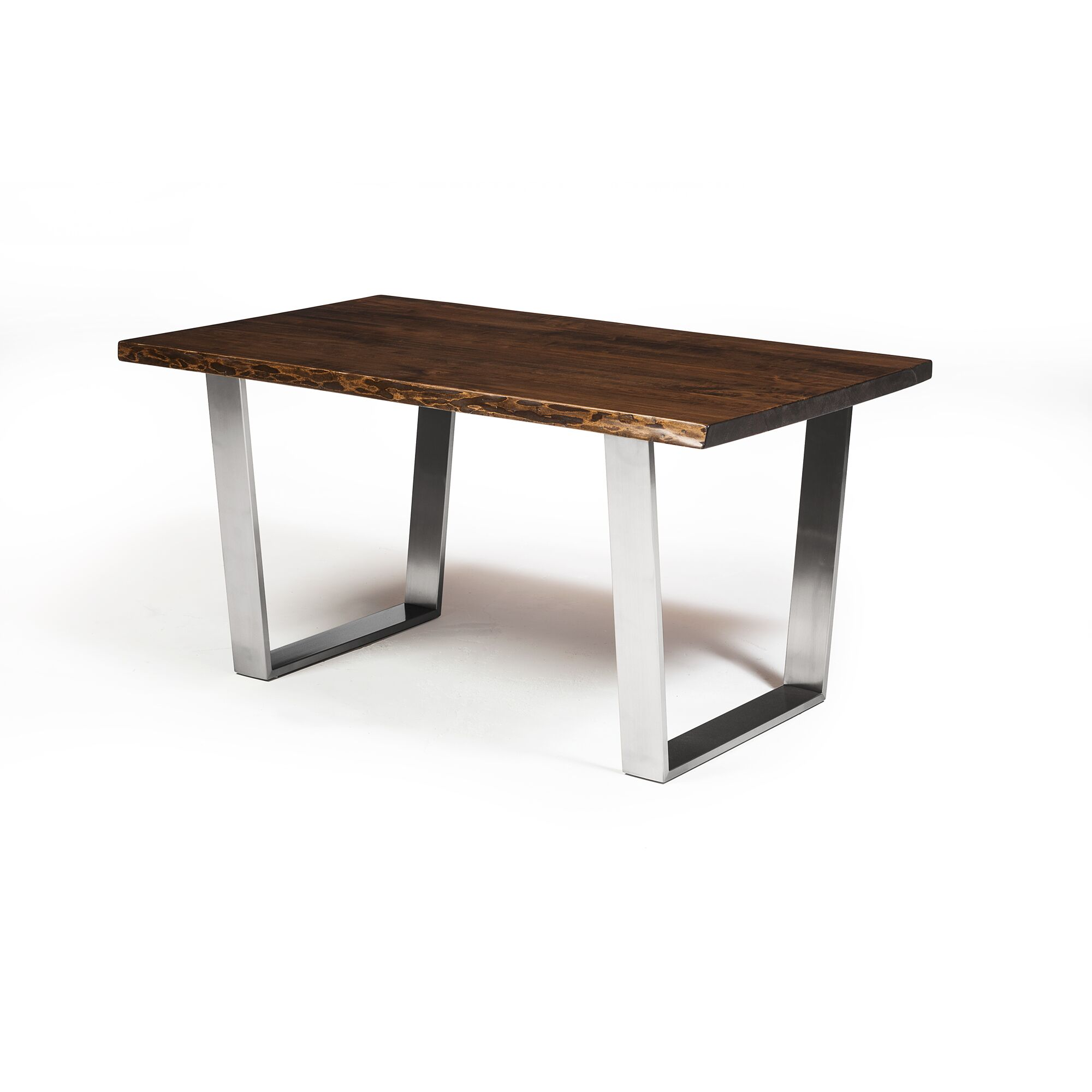 David Dining Table Base Color: Silver