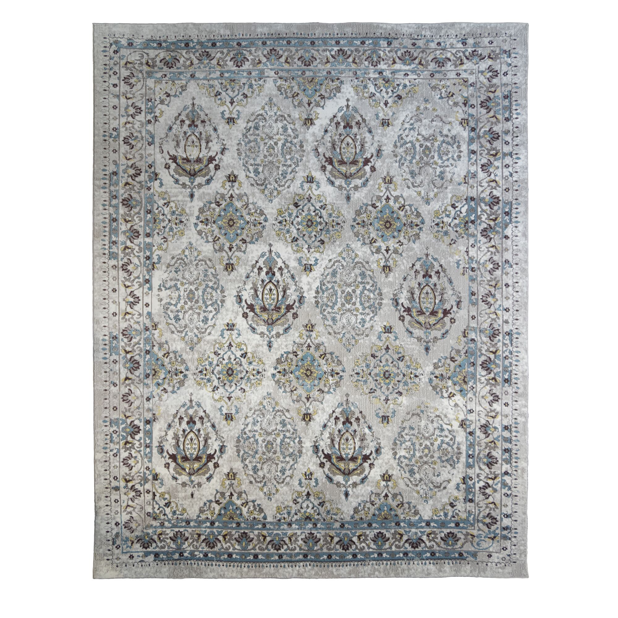 Rios Ivory Area Rug Rug Size: Rectangle 6'6
