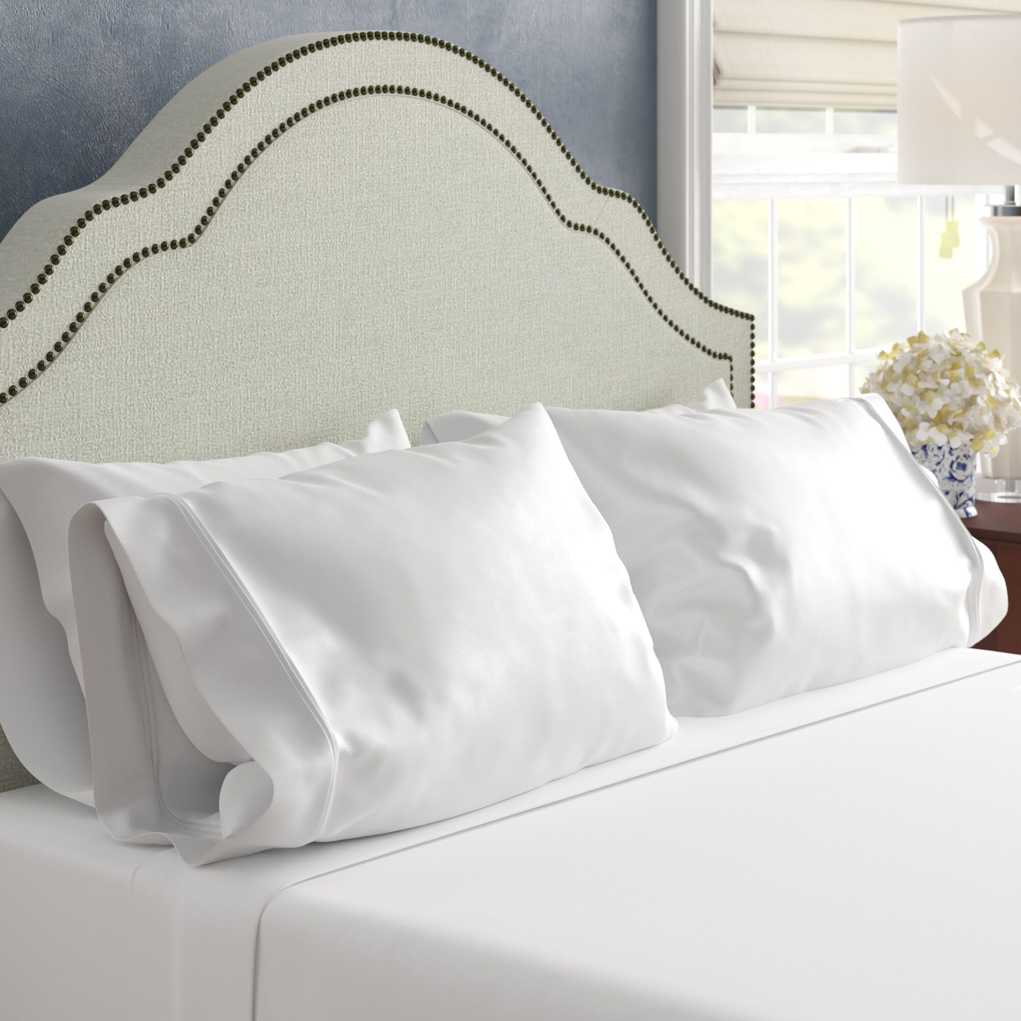 Superior 1200 Thread Count 100% Cotton Sheet Set Color: White, Size: Full