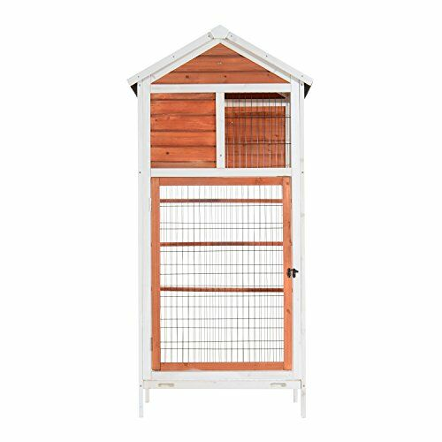 Fratessa Outdoor Aviary Flight Bird Cage House