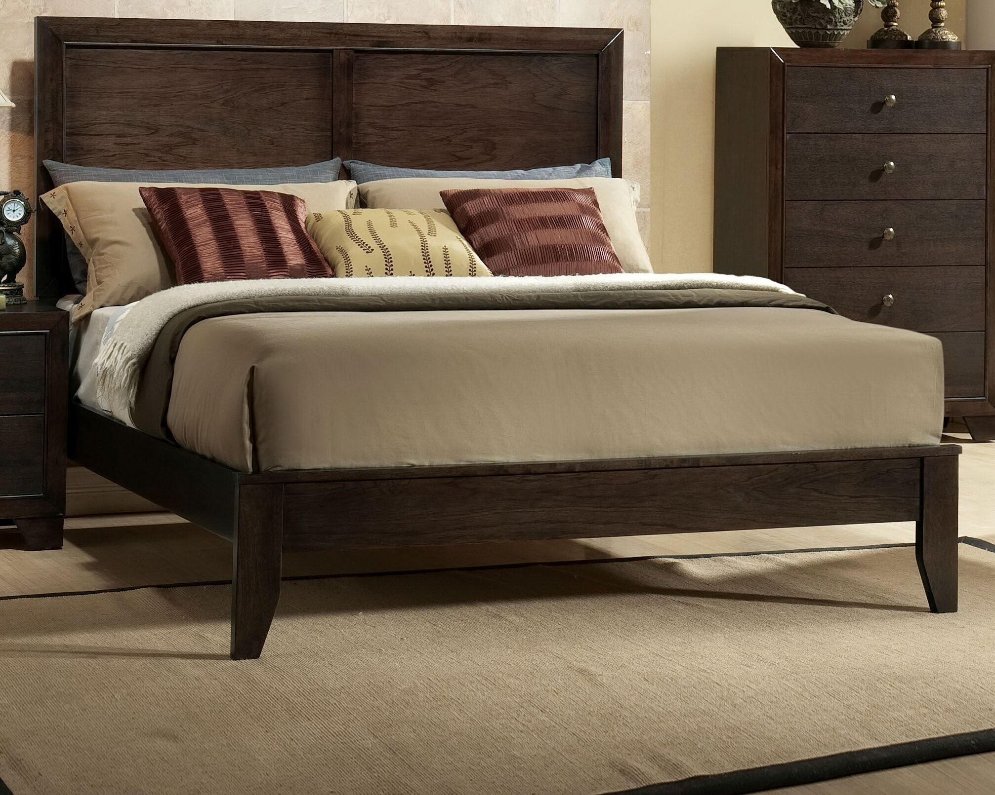 Mcnally Panel Bed Size: Queen
