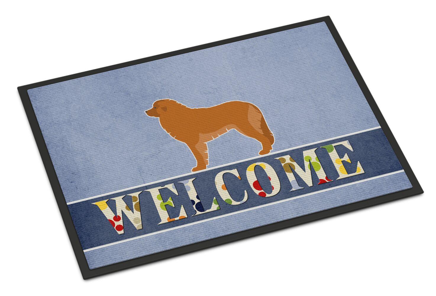 Leonberger Welcome Doormat